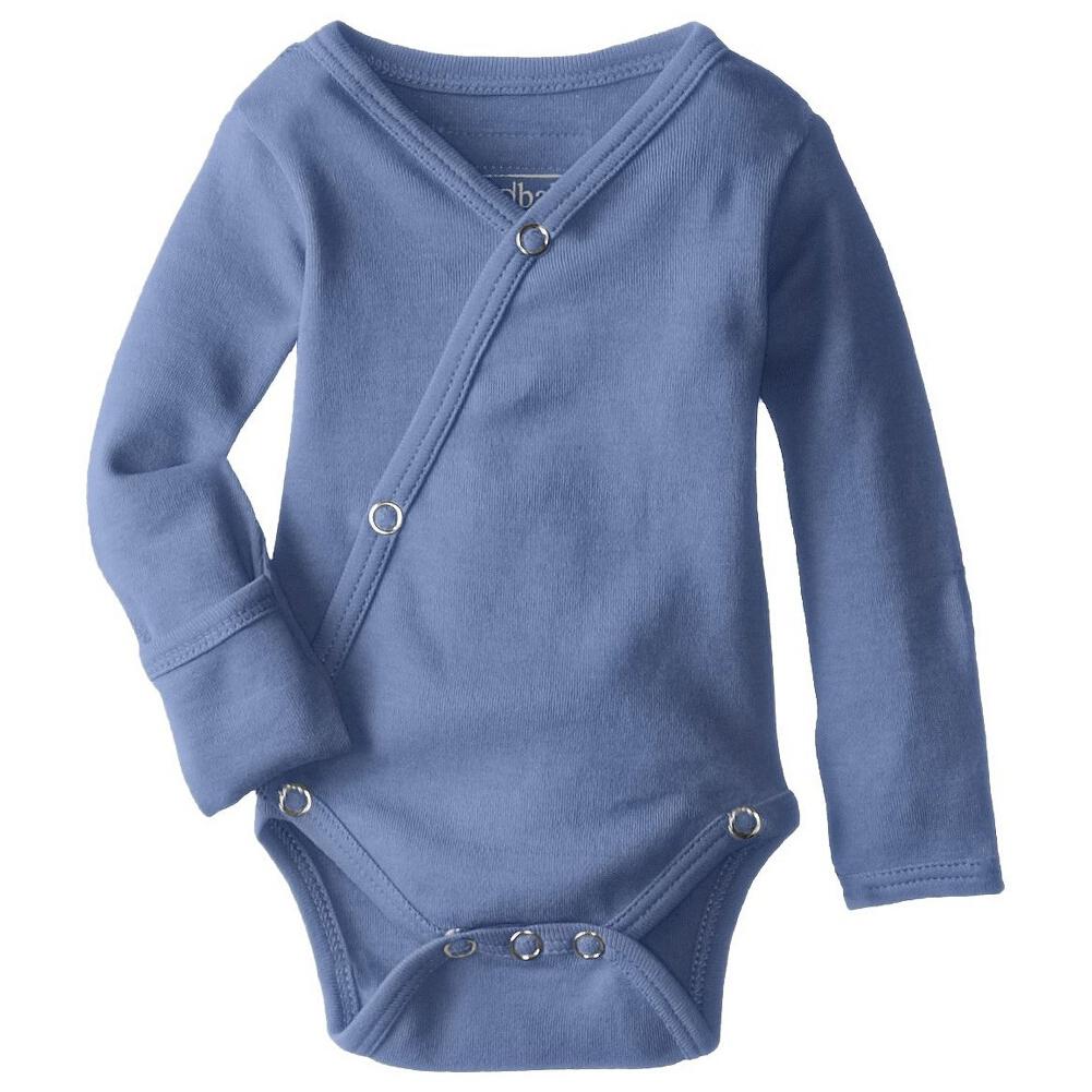 Loved' Baby Organic Kimono Bodysuit in Slate size 3-6m    $19.95    Wants 1