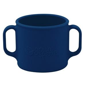 Green Sprouts Silicone Learning Cup in Navy    $10.00    Wants 1