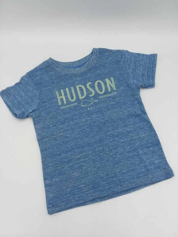 Hudson Tee-Shirt in Blue size 6-12m    $20.00    Wants 1
