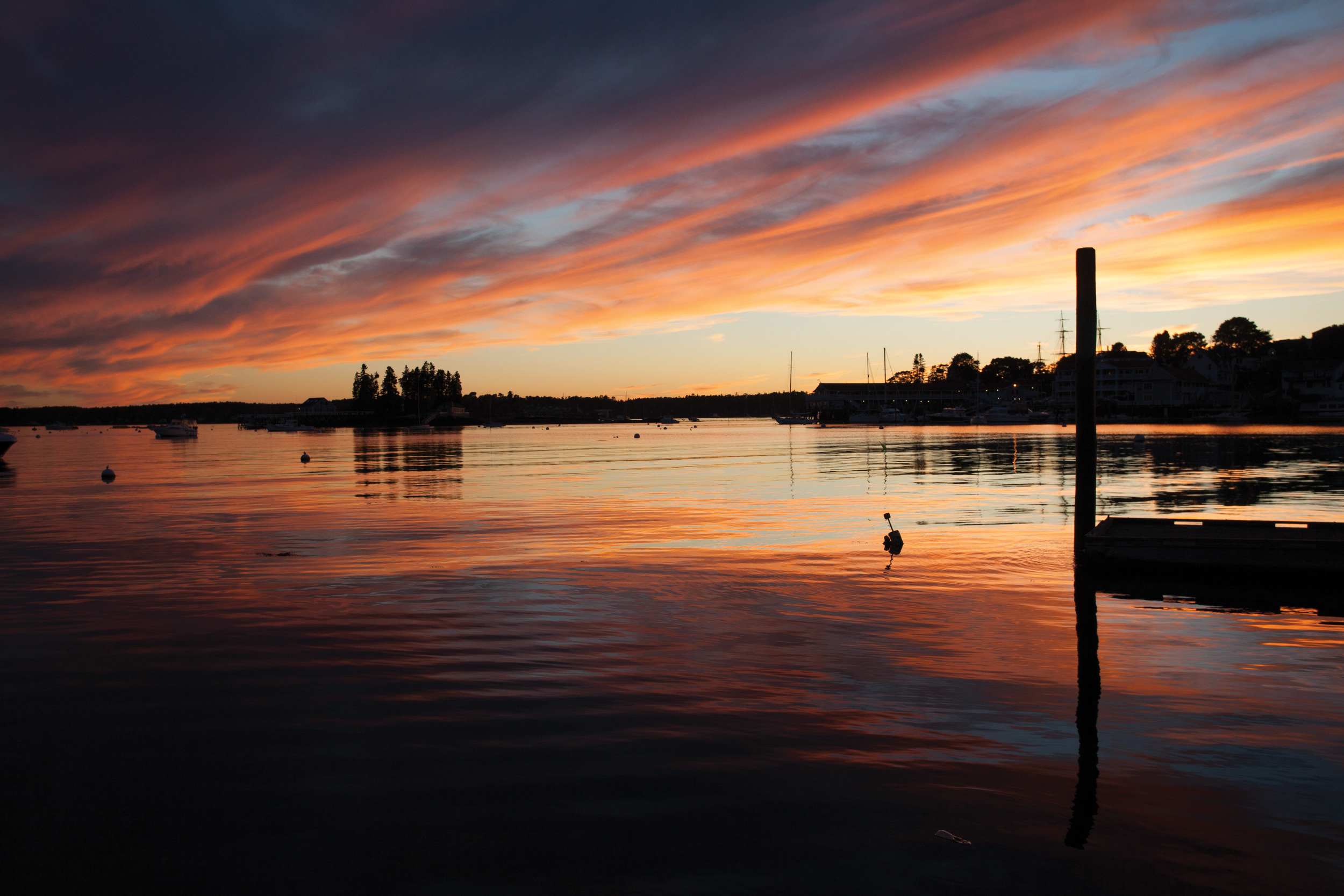 October | Boothbay Harbor