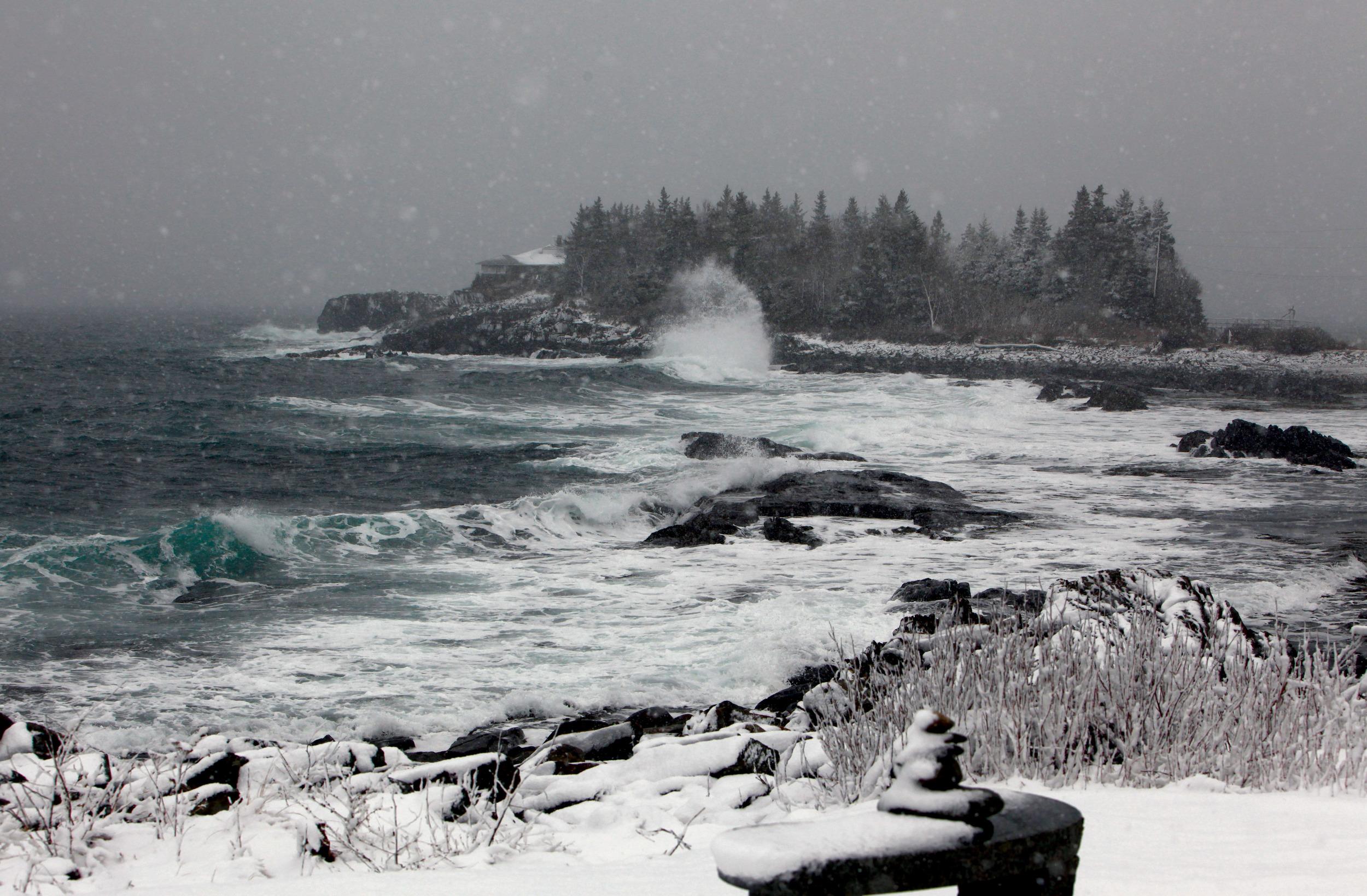 February | Ocean Island, East Boothbay