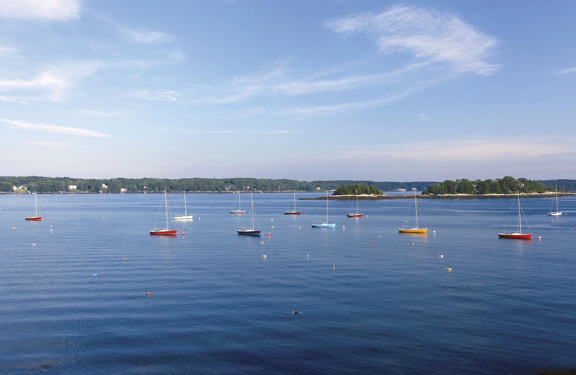 July: Linekin Bay