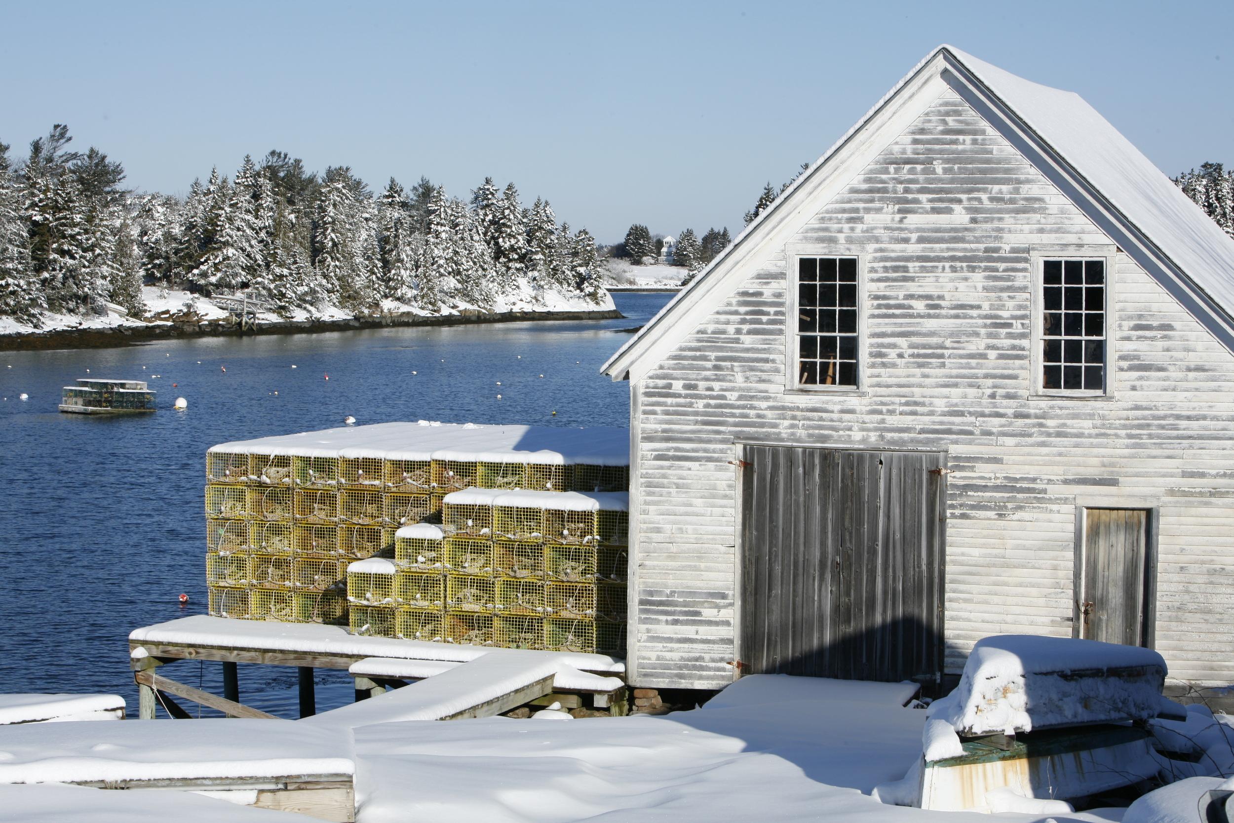 December: Cozy Harbor, Southport