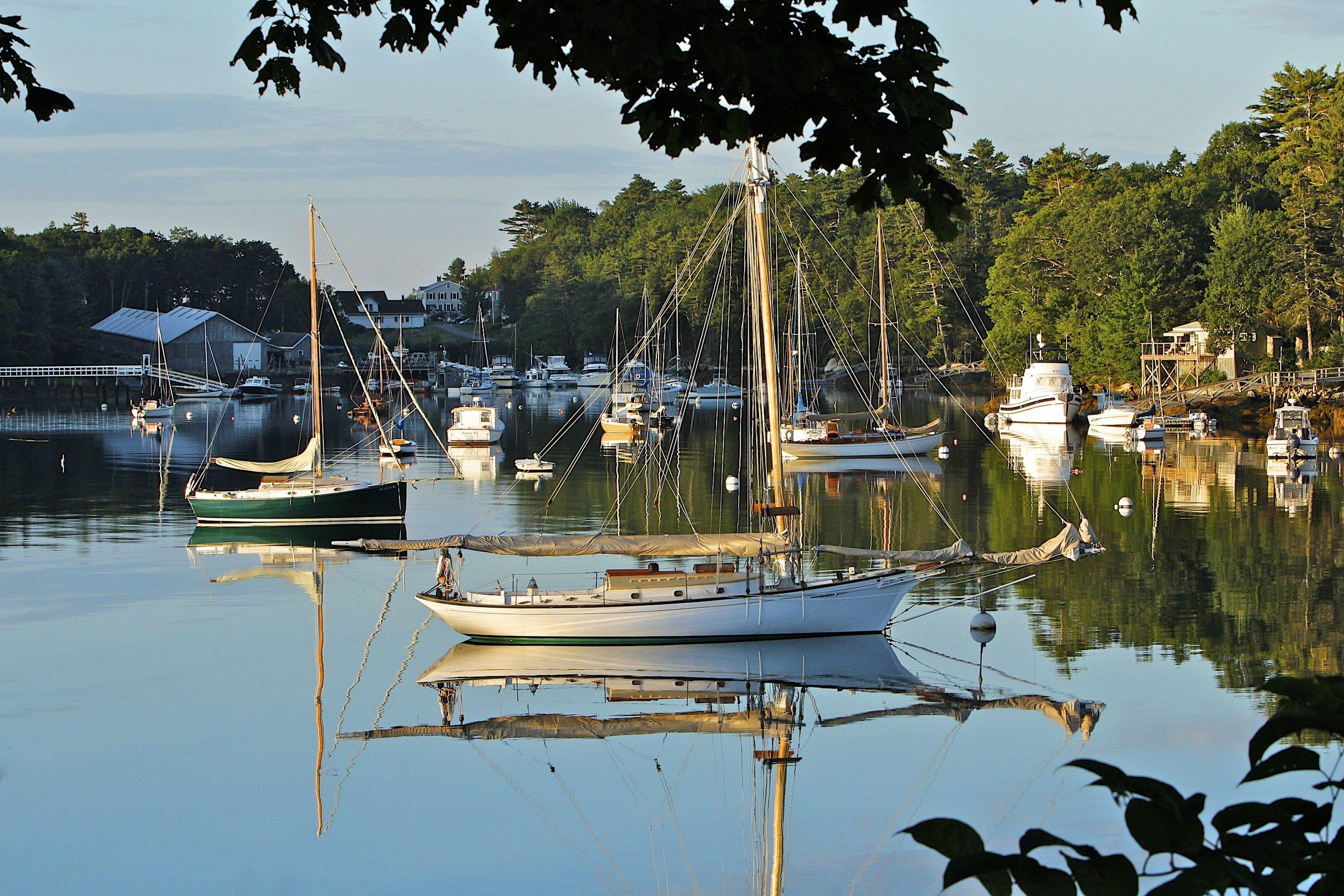 June: West Boothbay Harbor