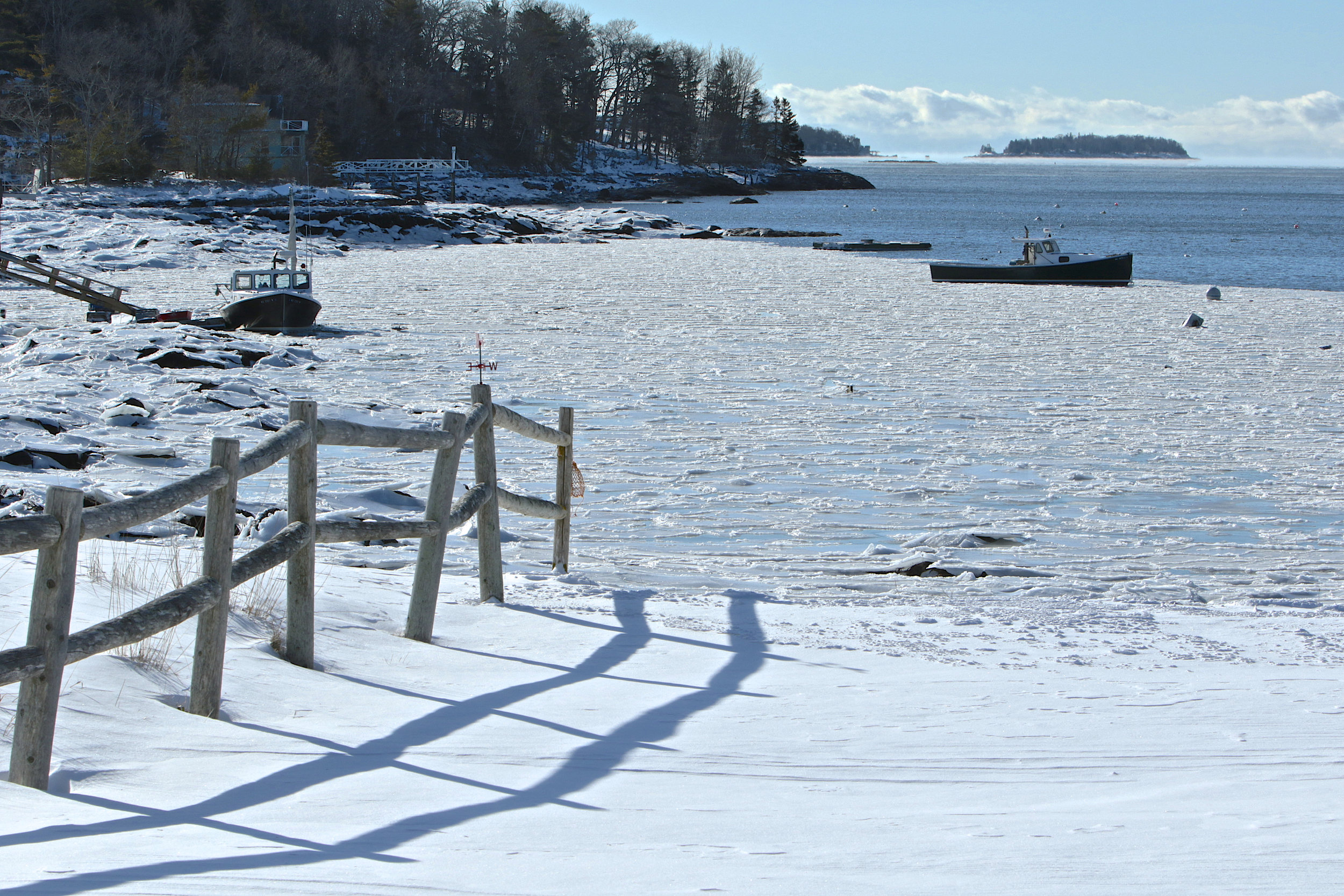 January: East Boothbay