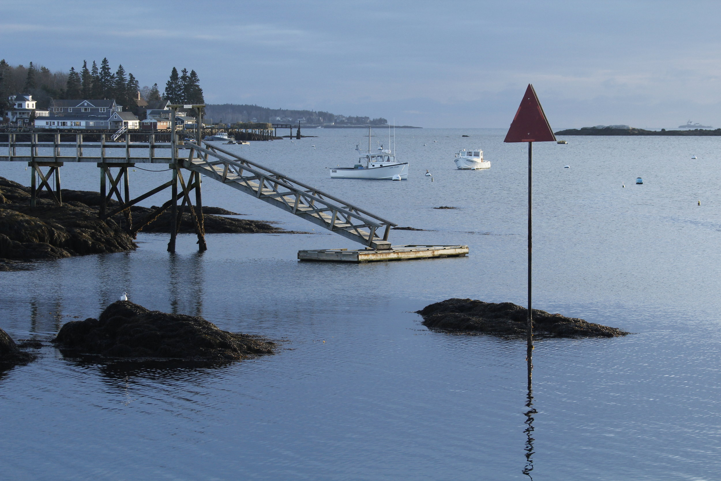 March: Boothbay Harbor