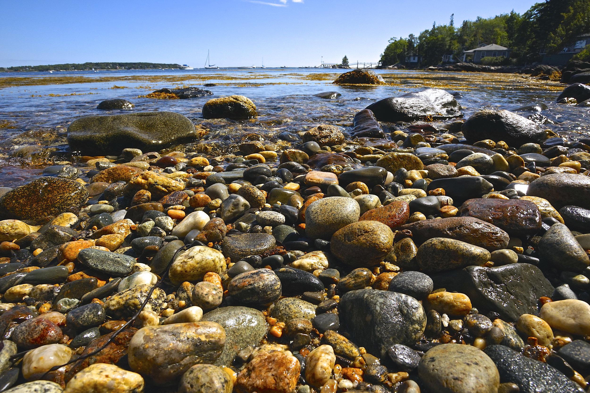 August: Water Rocks Beach