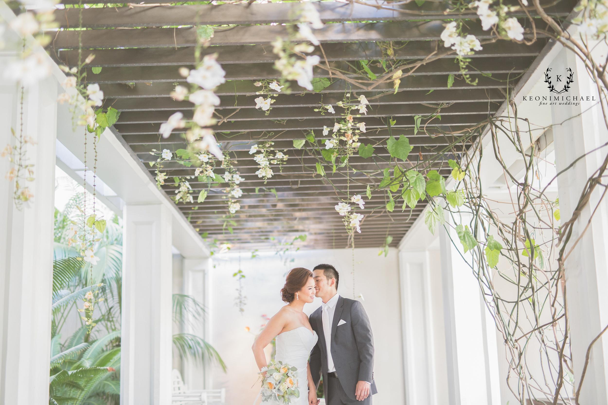Halekulani hotel wedding