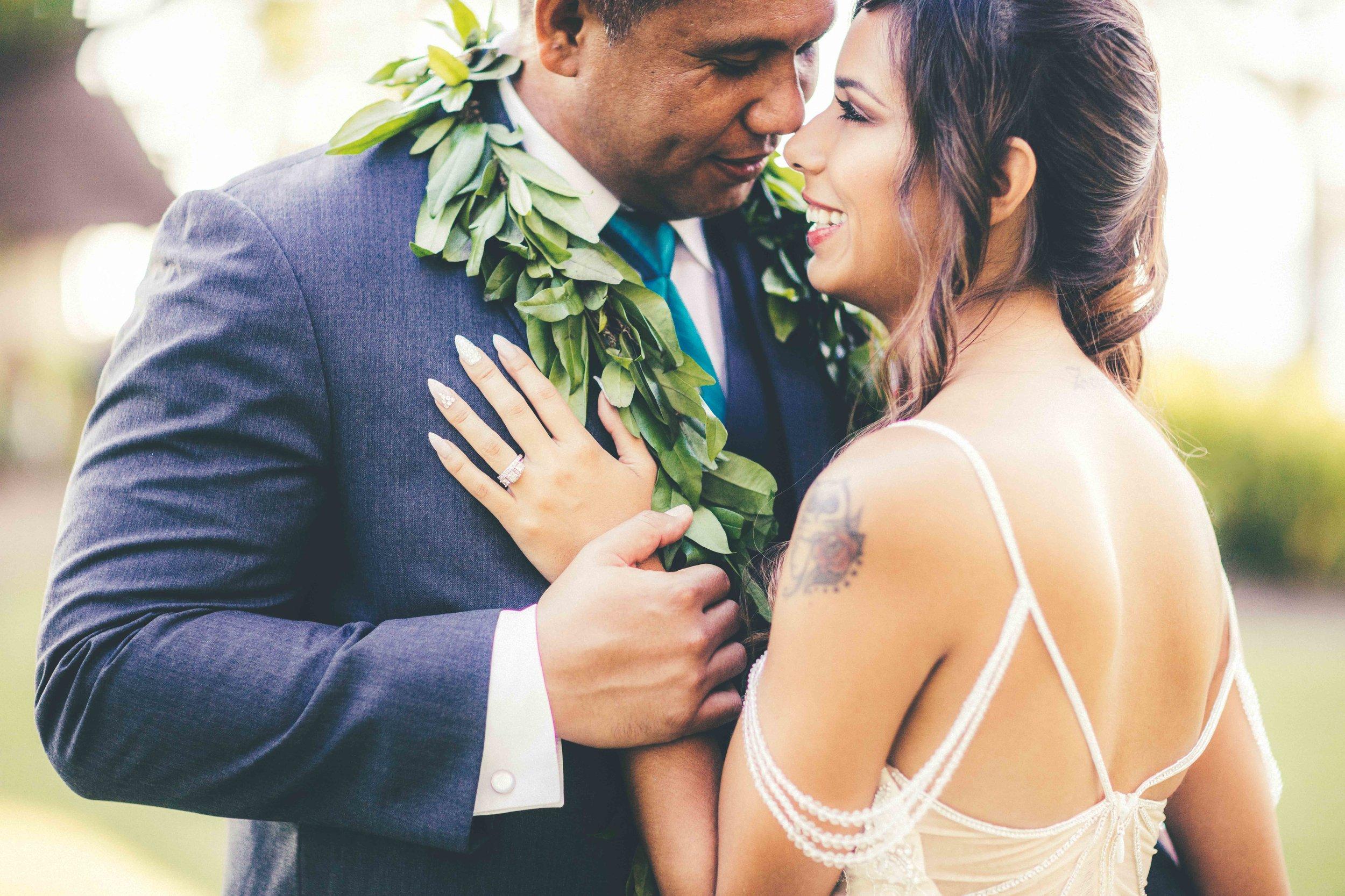 Lanikuhonua Wedding Hawaii
