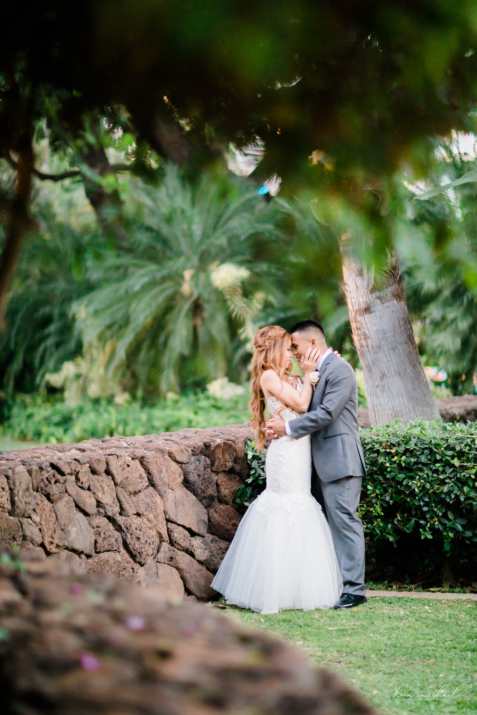 Wedding Party Family Hawaii Wedding Engagement Photographer