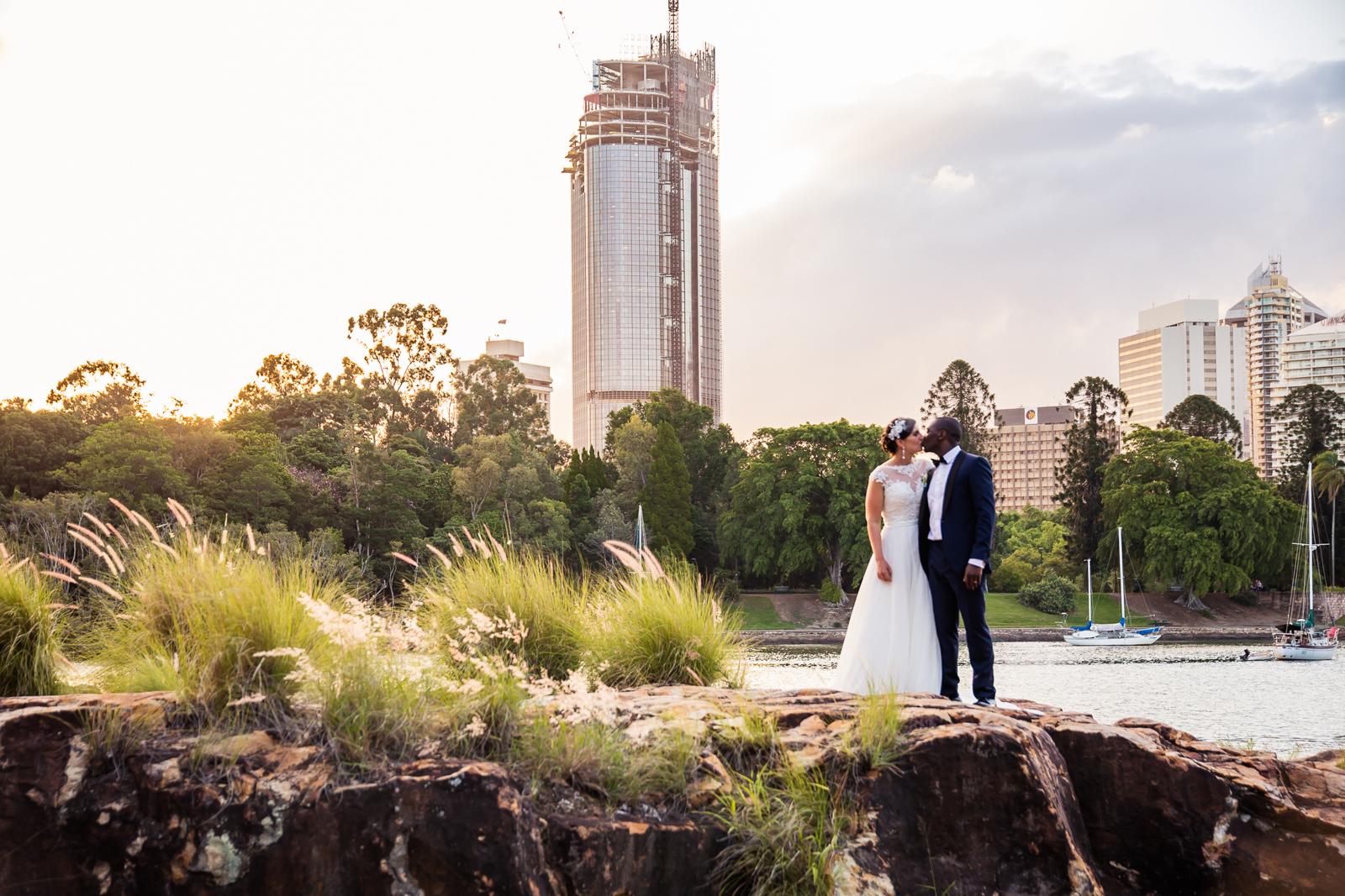 Kangaroo Point Wedding Brisbane Photography