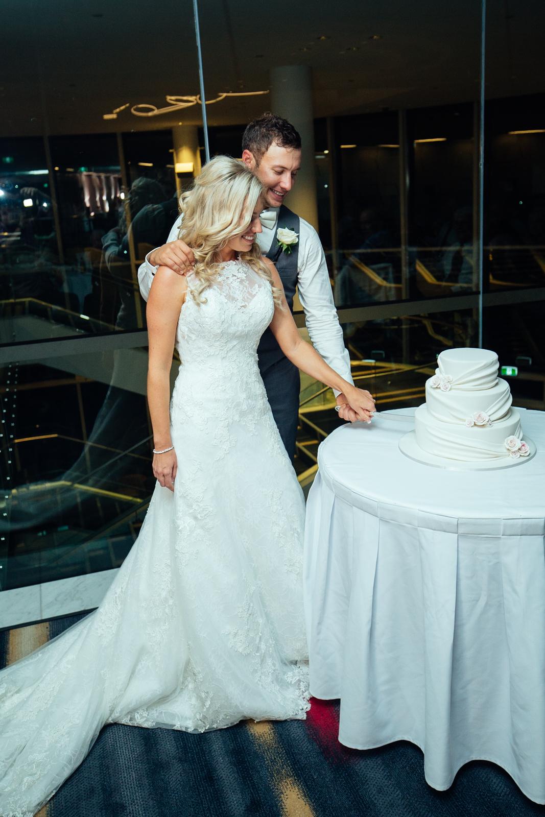 Royal Pines Reception Wedding Cake