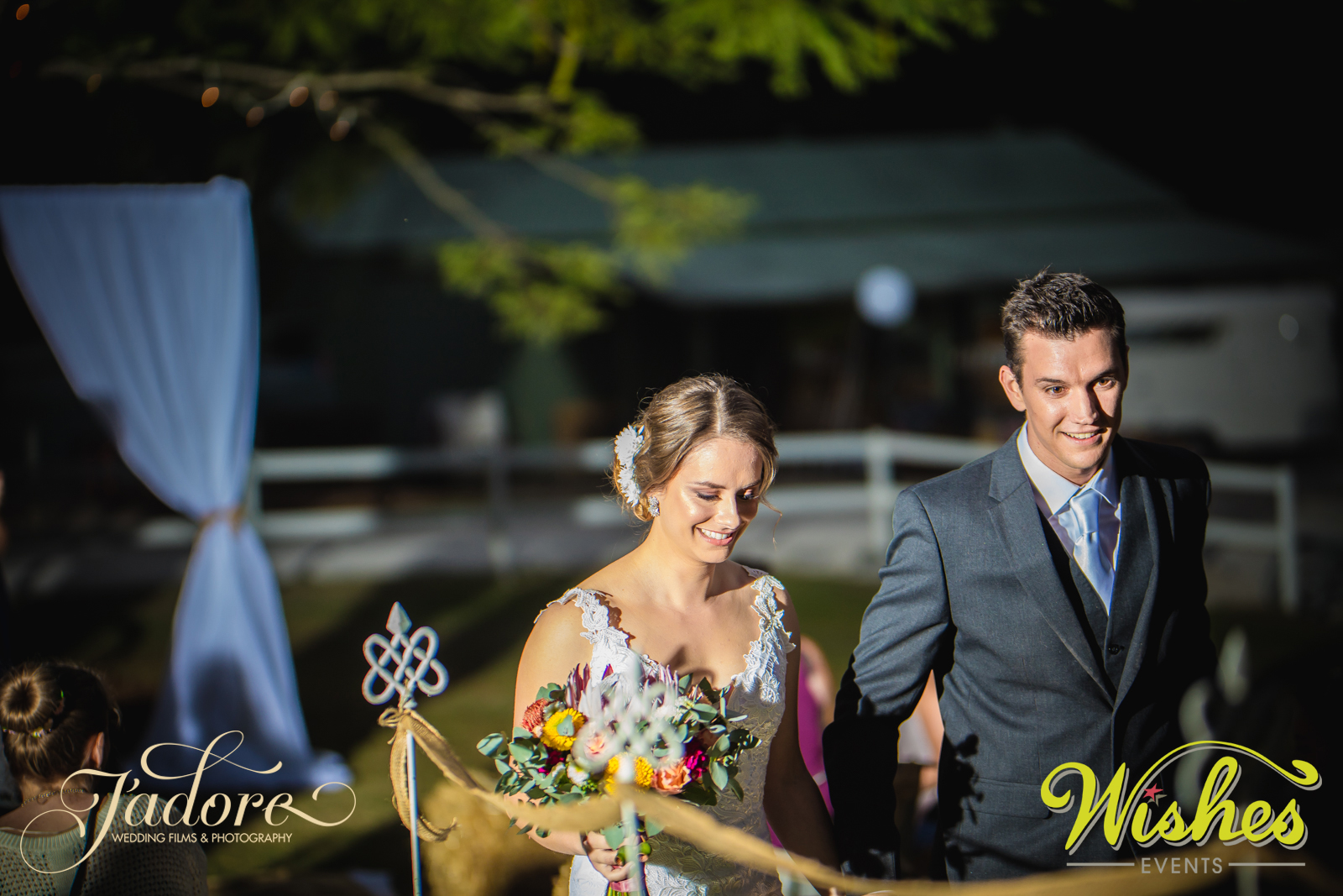 Paradise Country Ceremony Styled by Wishes Events and Photographed by J'adore Wedding Photo & Film