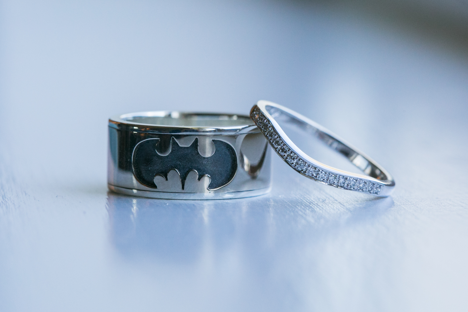 Handmade Batman Rings.