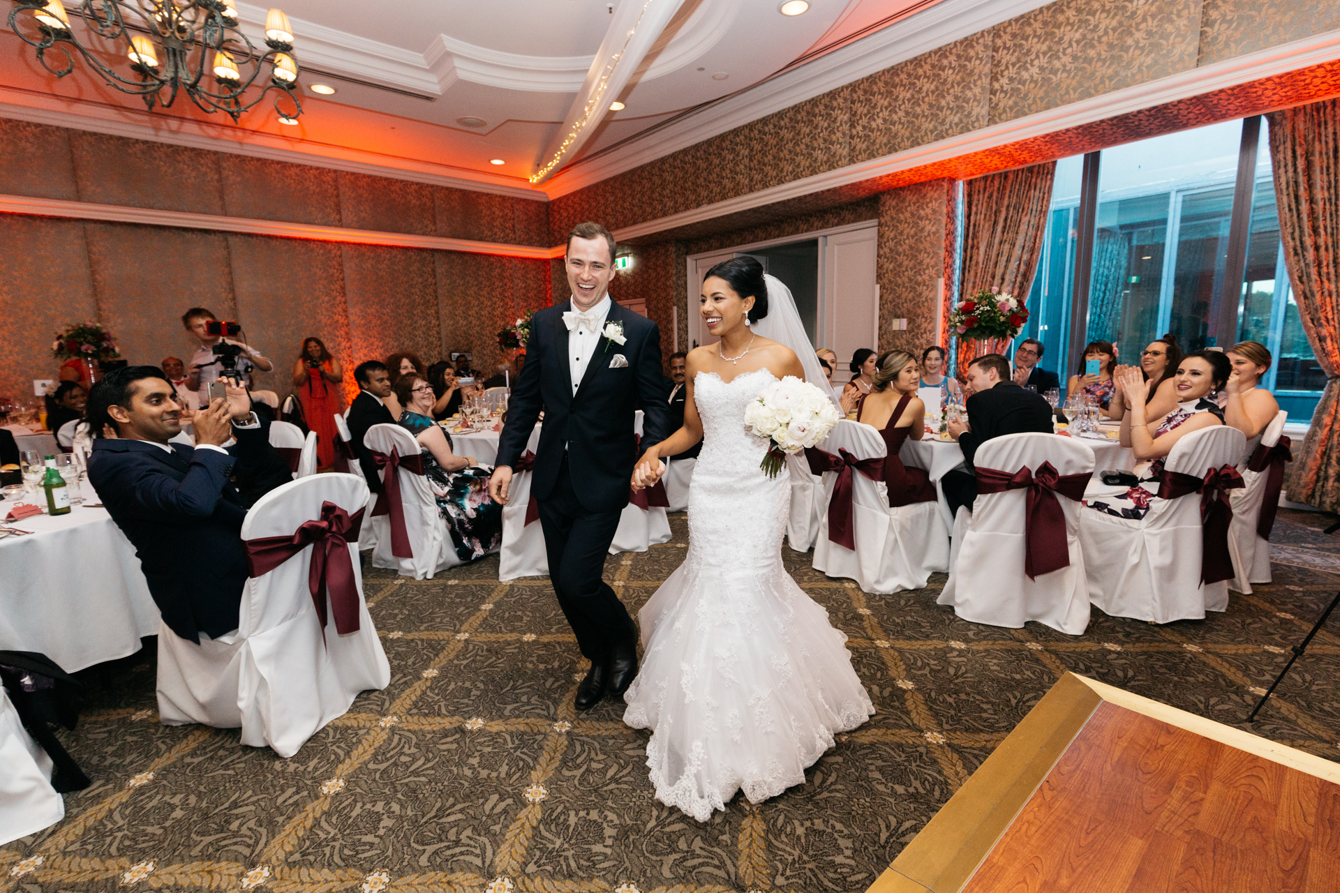 Wedding Reception at Stamford Wedding Photogrpahy & Video