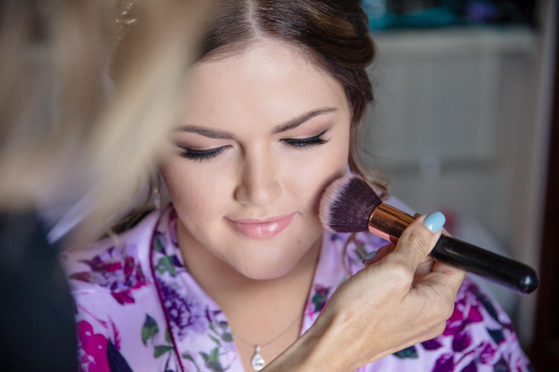 Amanda Higl Wedding Makeup