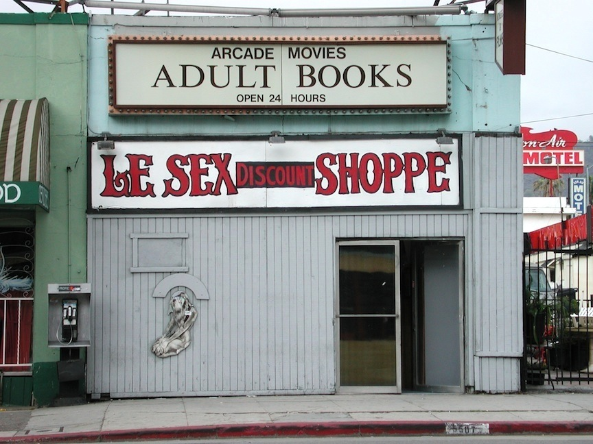 Le Sex Shoppe, Los Angeles, CA / Photo credit: Susannah Breslin
