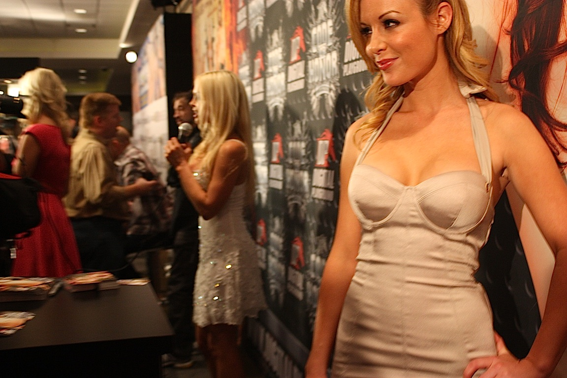 Porn star Kayden Kross, AVN Adult Entertainment Expo 2013, Las Vegas, NV / Photo credit: Susannah Breslin