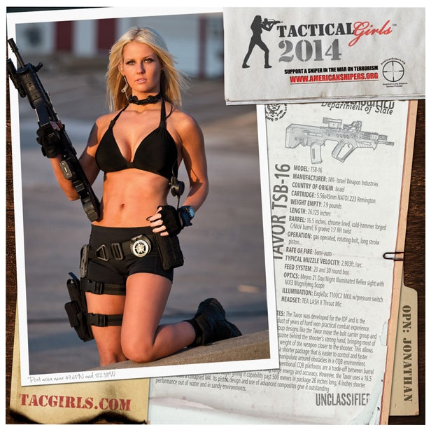Tactical Girls Calendar