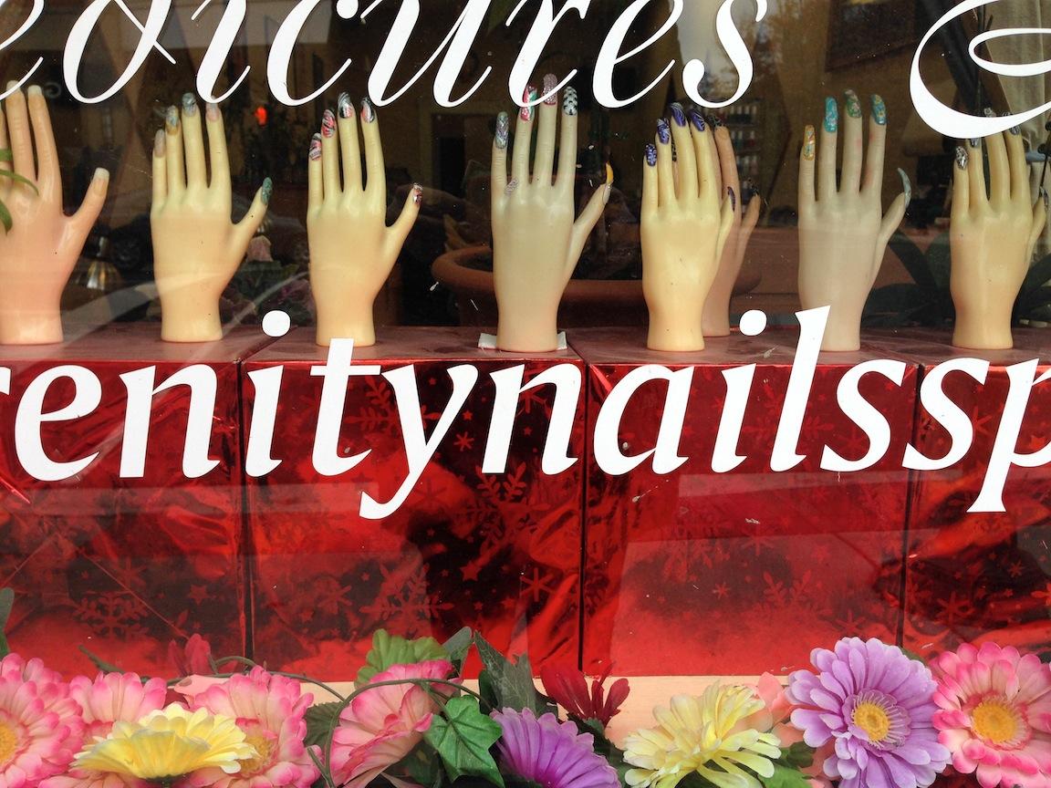 Nail salon / Photo credit:  Susannah Breslin