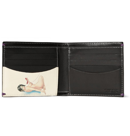 Paul Smith Naked Lady Leather Billfold Wallet, $235