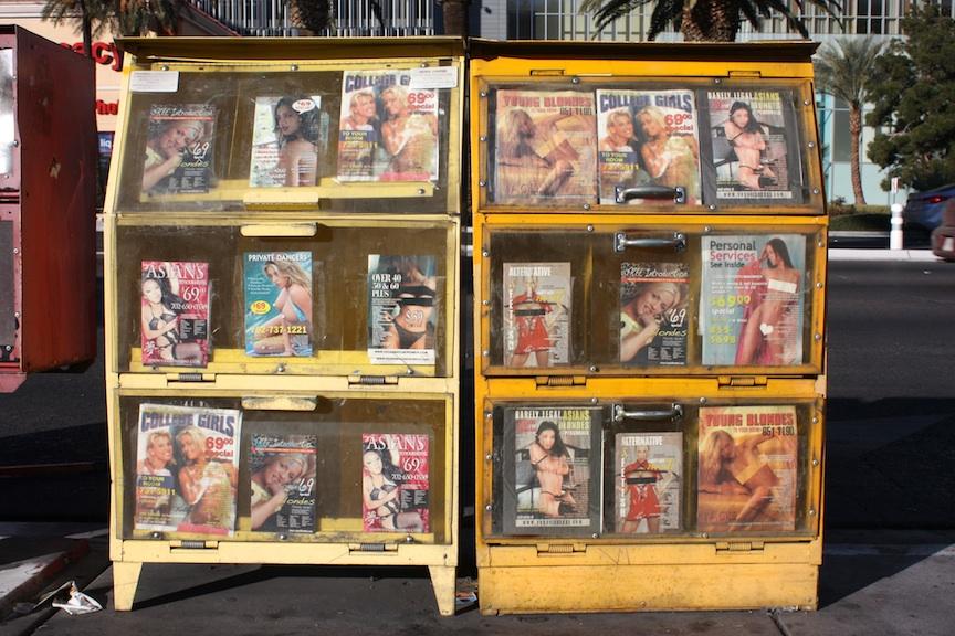 Adult magazines, Las Vegas, NV / Photo credit:  Susannah Breslin