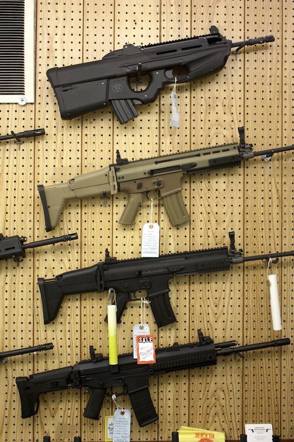 Guns, East Dundee, IL / Photo credit:  Susannah Breslin