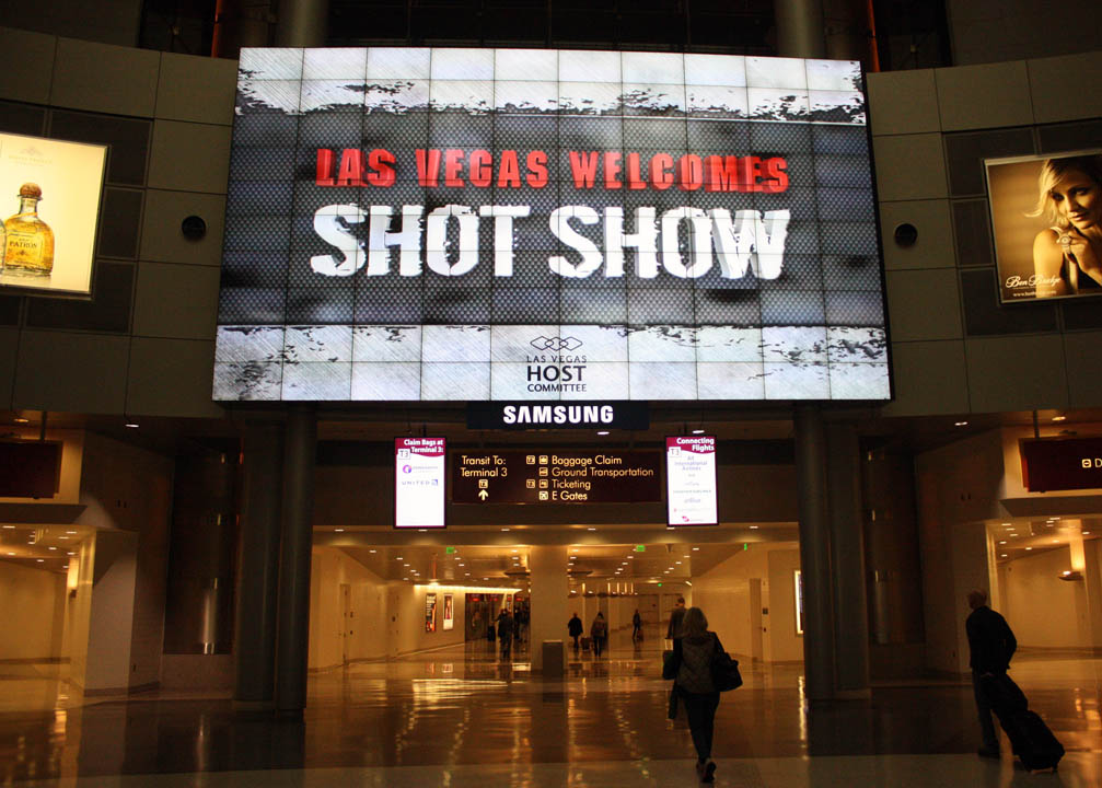 SHOT Show, Las Vegas, NV / Photo credit:  Susannah Breslin