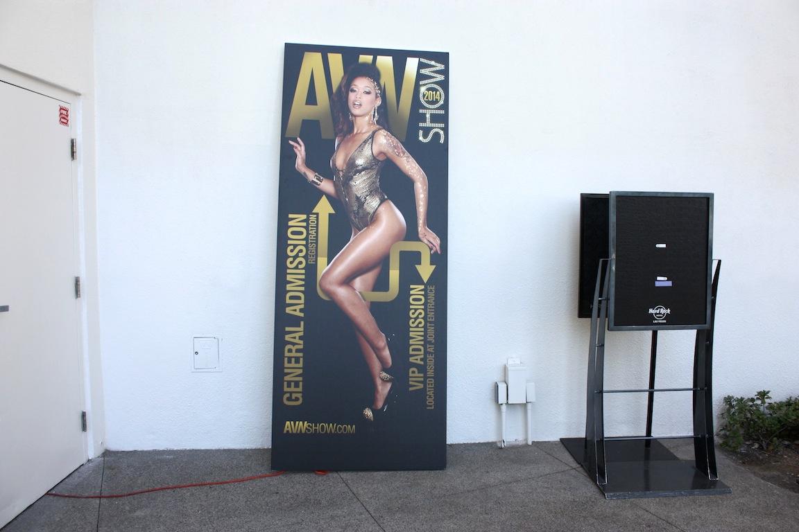 AVN Awards sign, Las Vegas, NV / Photo credit:  Susannah Breslin