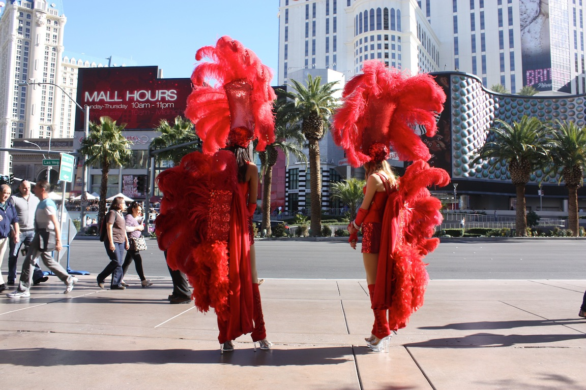 Showgirls, Las Vegas, NV / Photo credit:  Susannah Breslin