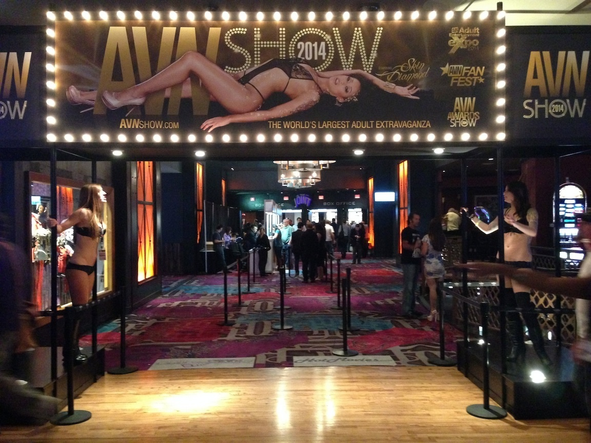 AVN Awards, Las Vegas, NV / Photo credit:  Susannah Breslin