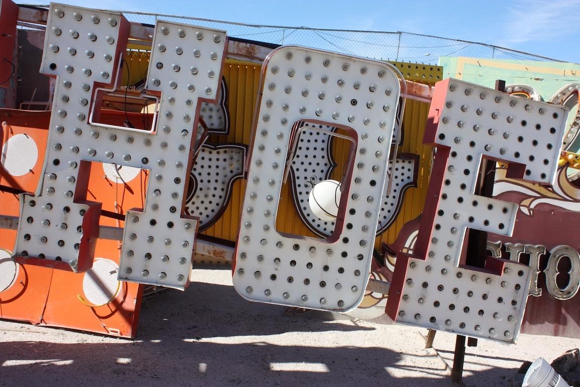 Neon, Las Vegas, NV / Photo credit:  Susannah Breslin