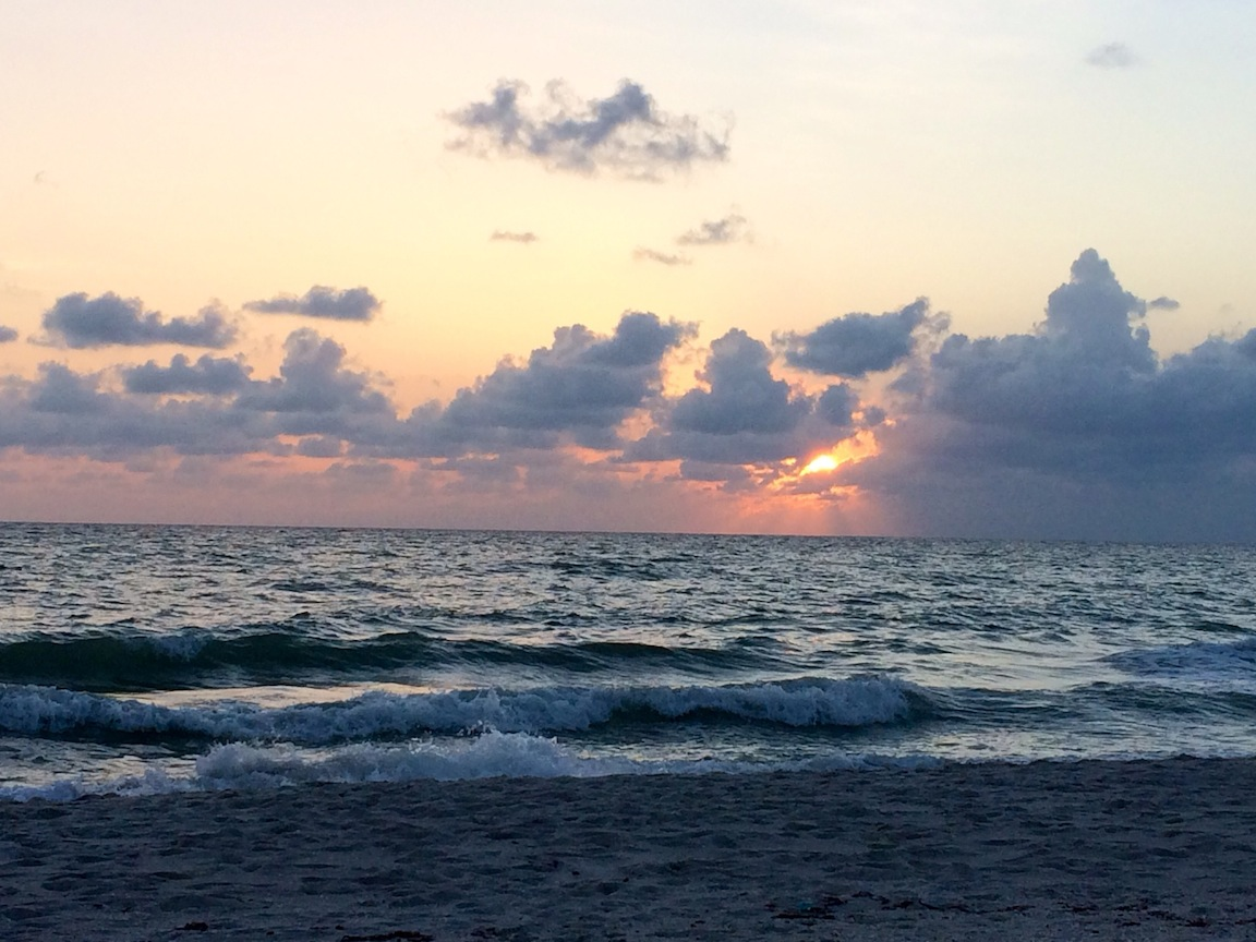 Sunset, Naples, FL / Photo credit:  Susannah Breslin
