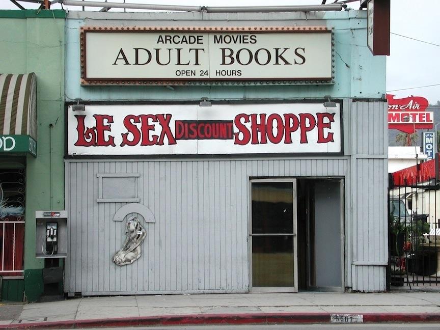 Le Sex Shoppe, Hollywood, CA / Photo credit:  Susannah Breslin