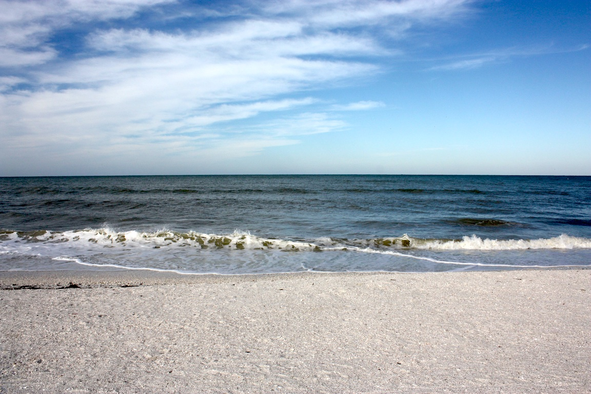 Beach, Naples, FL / Photo credit:  Susannah Breslin