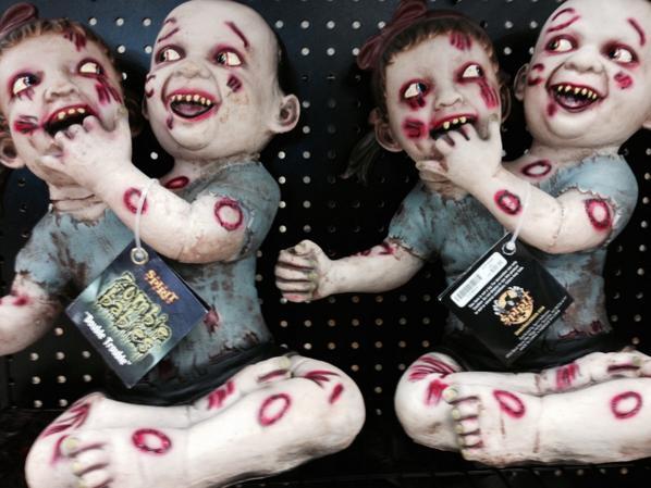 Zombie Babies, Naples, FL / Photo credit:  Susannah Breslin