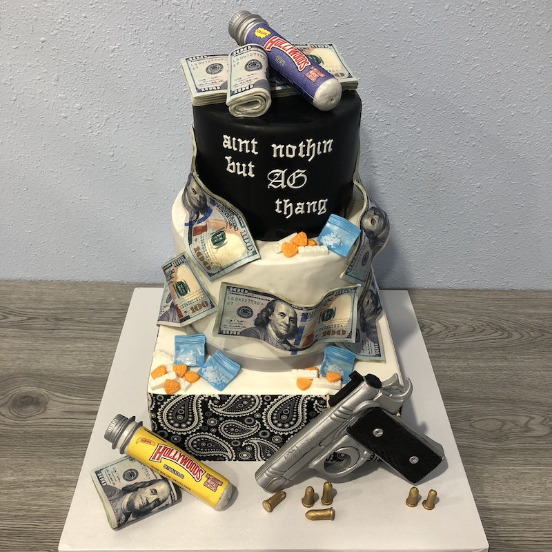 Happy gang anniversary! | Photo credit:  Cali Cake Dealers