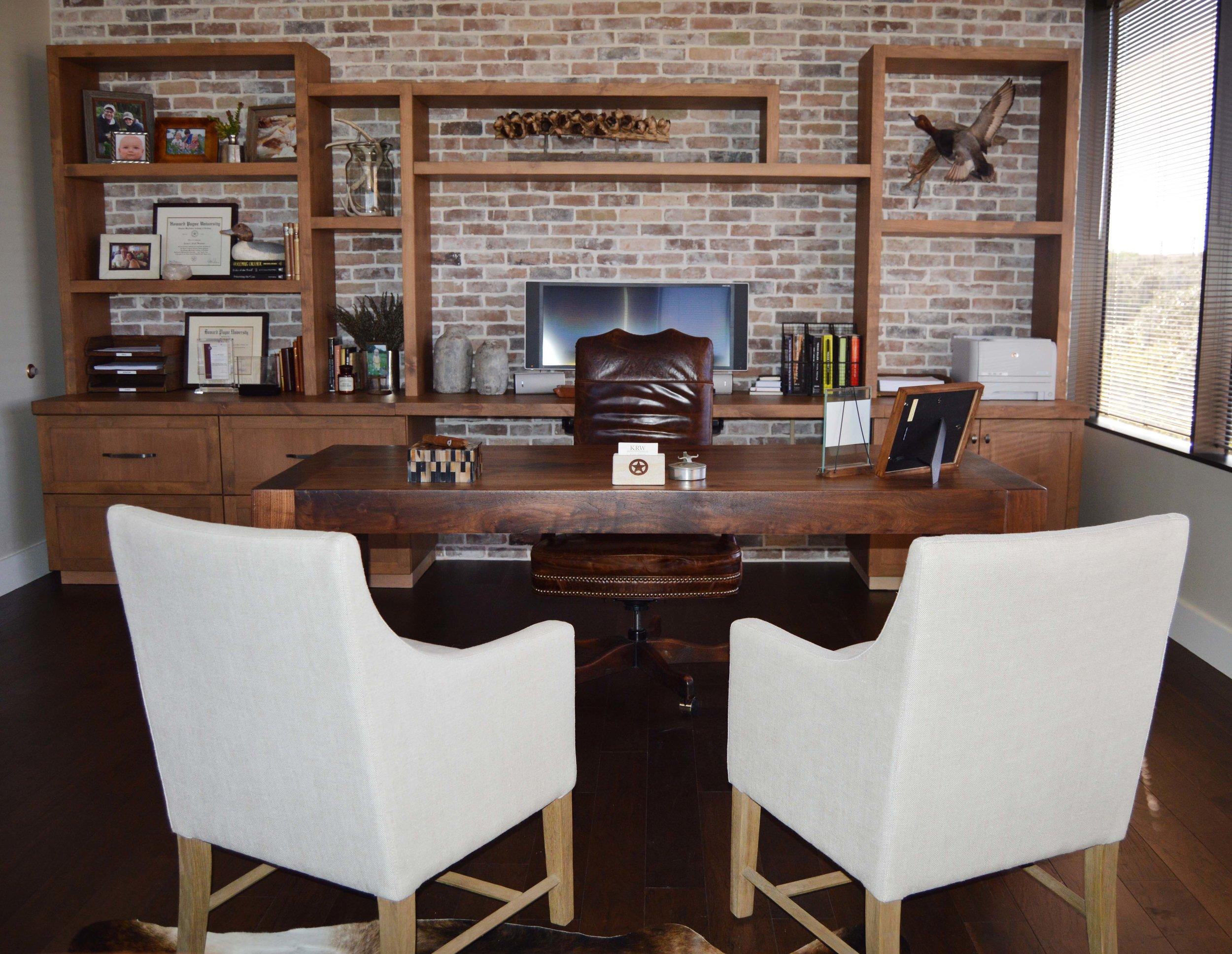 Texas Modern Office - Abode Interior Design