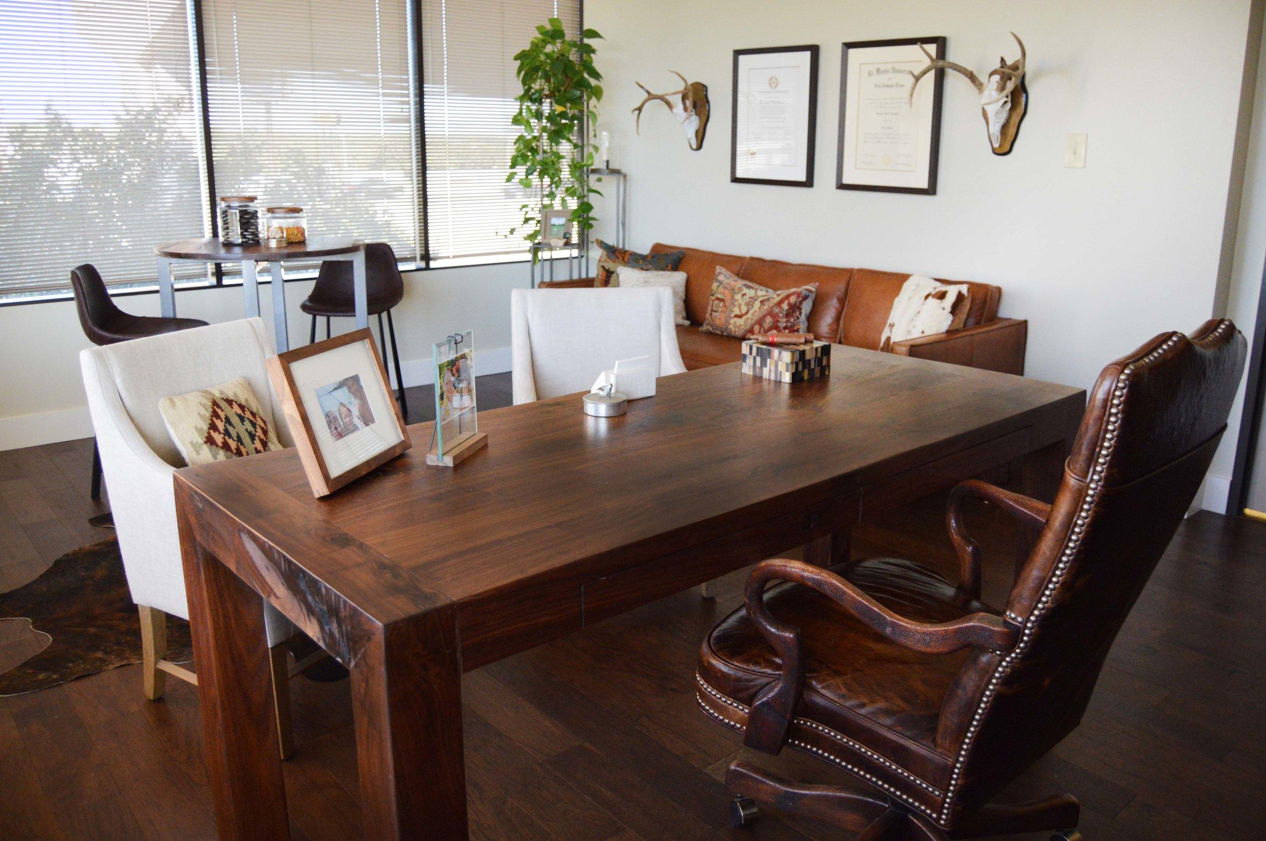 Desk View - Abode Interior Design