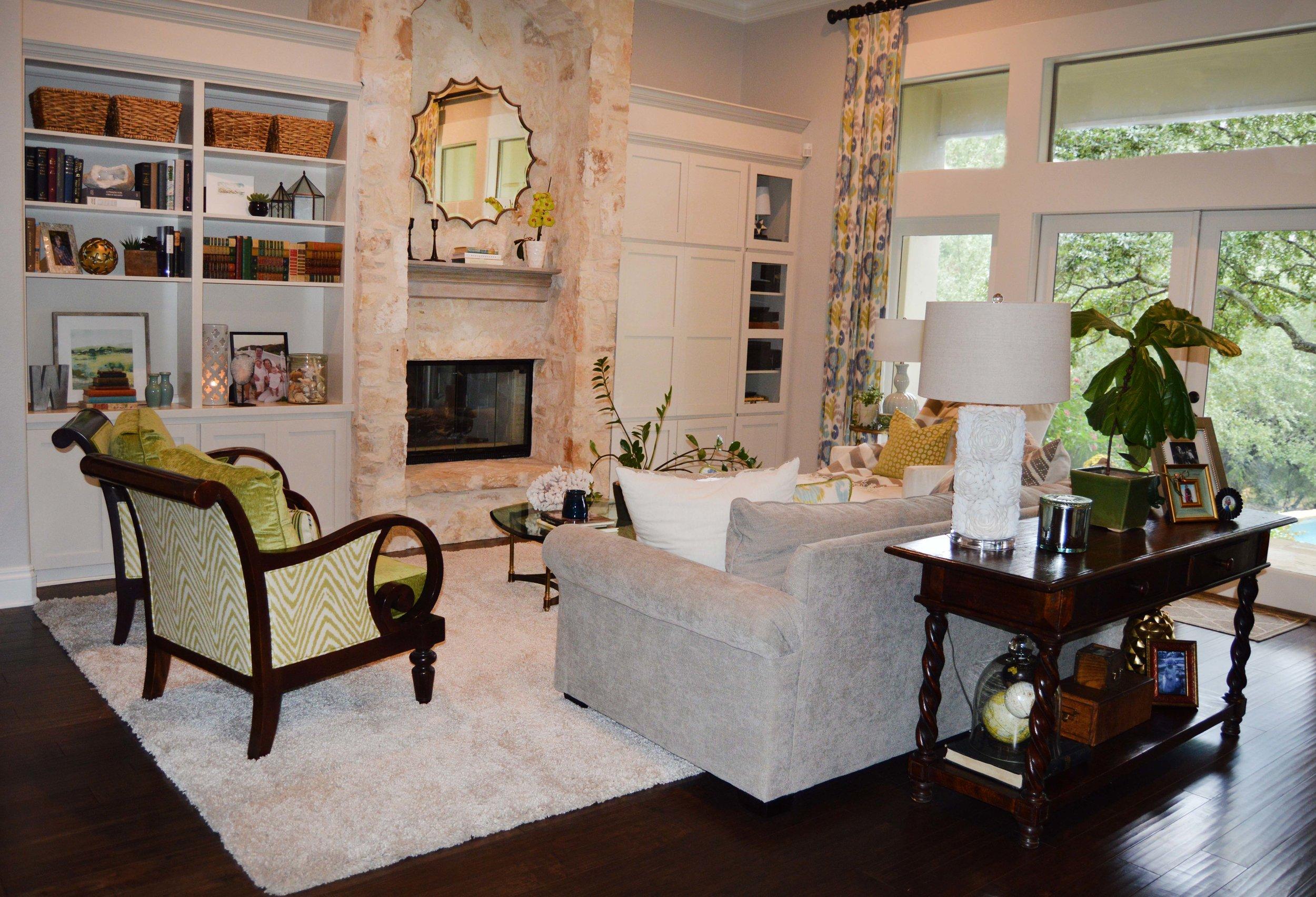Living Room - Abode Interior Design