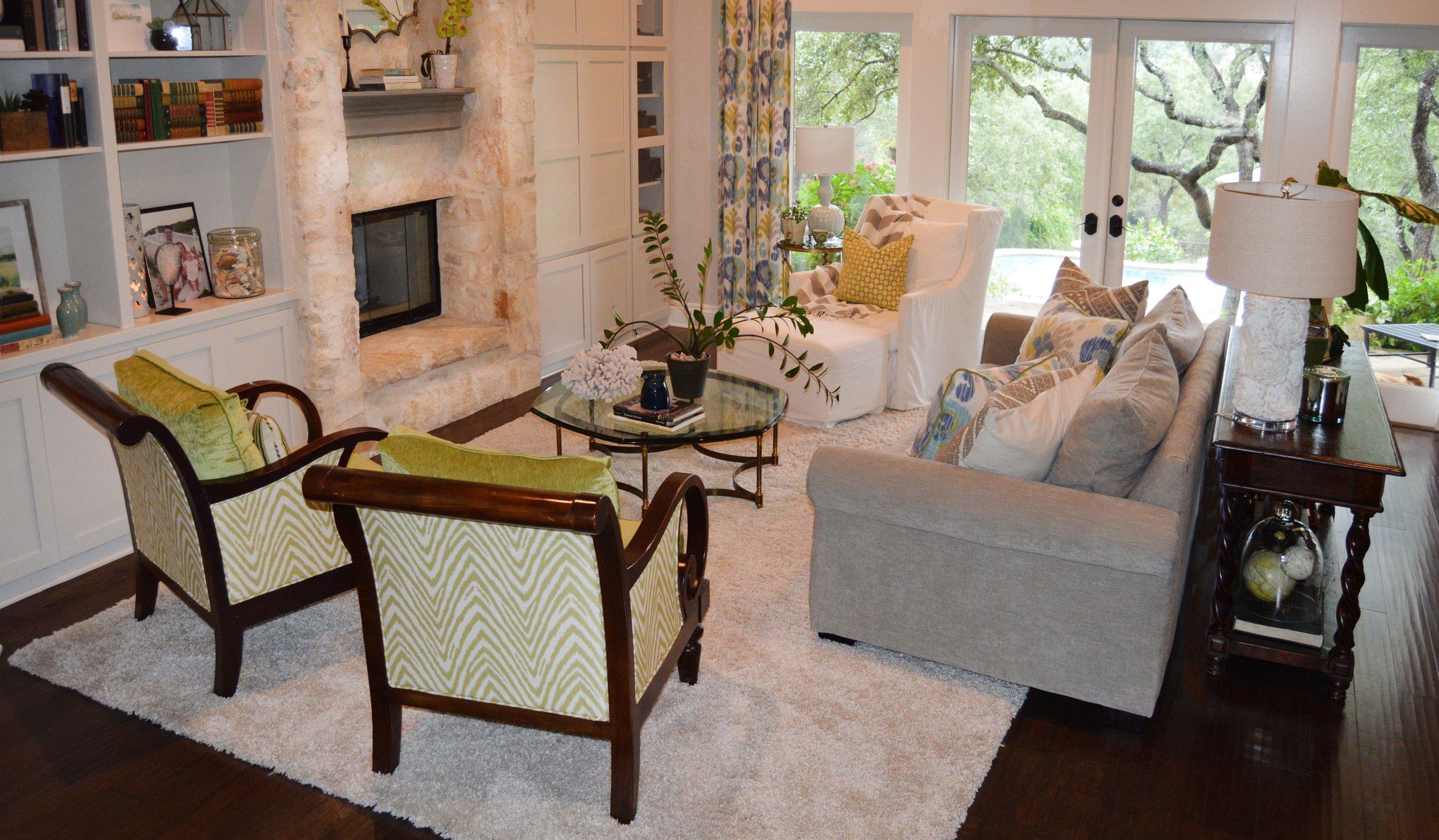 Living Room Details - Abode Interior Design