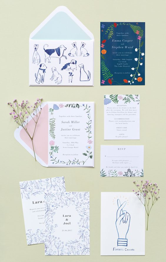 Stationery for Papier. Image by Papier
