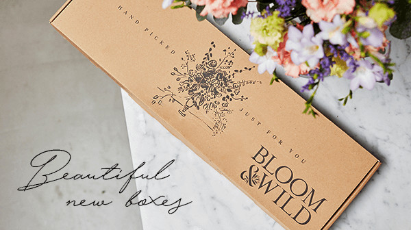 Packaging Design for Bloom & Wild Photograph by Bloom & Wild