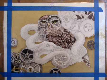 The Little Owl Process 2