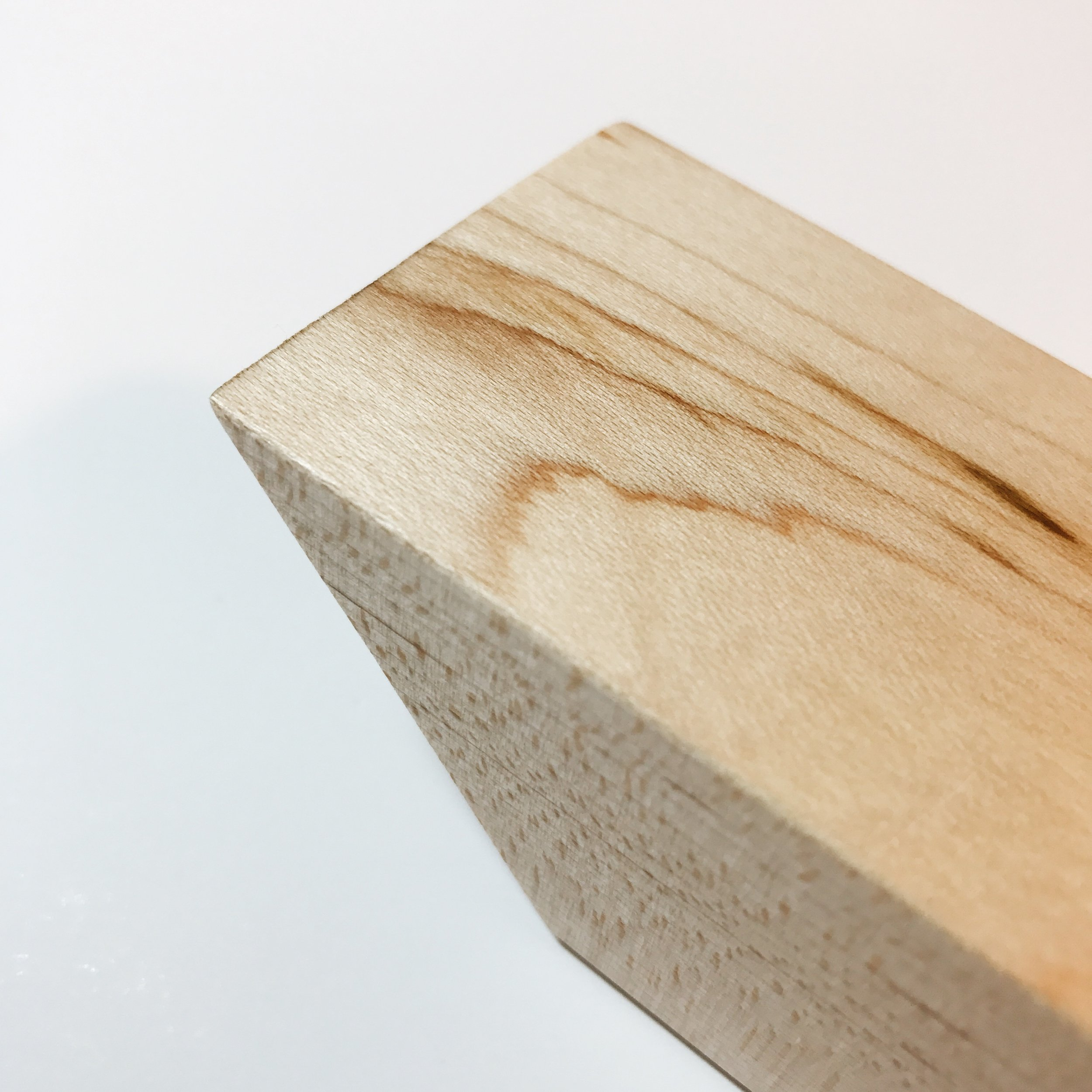 Maple - Clear Finish
