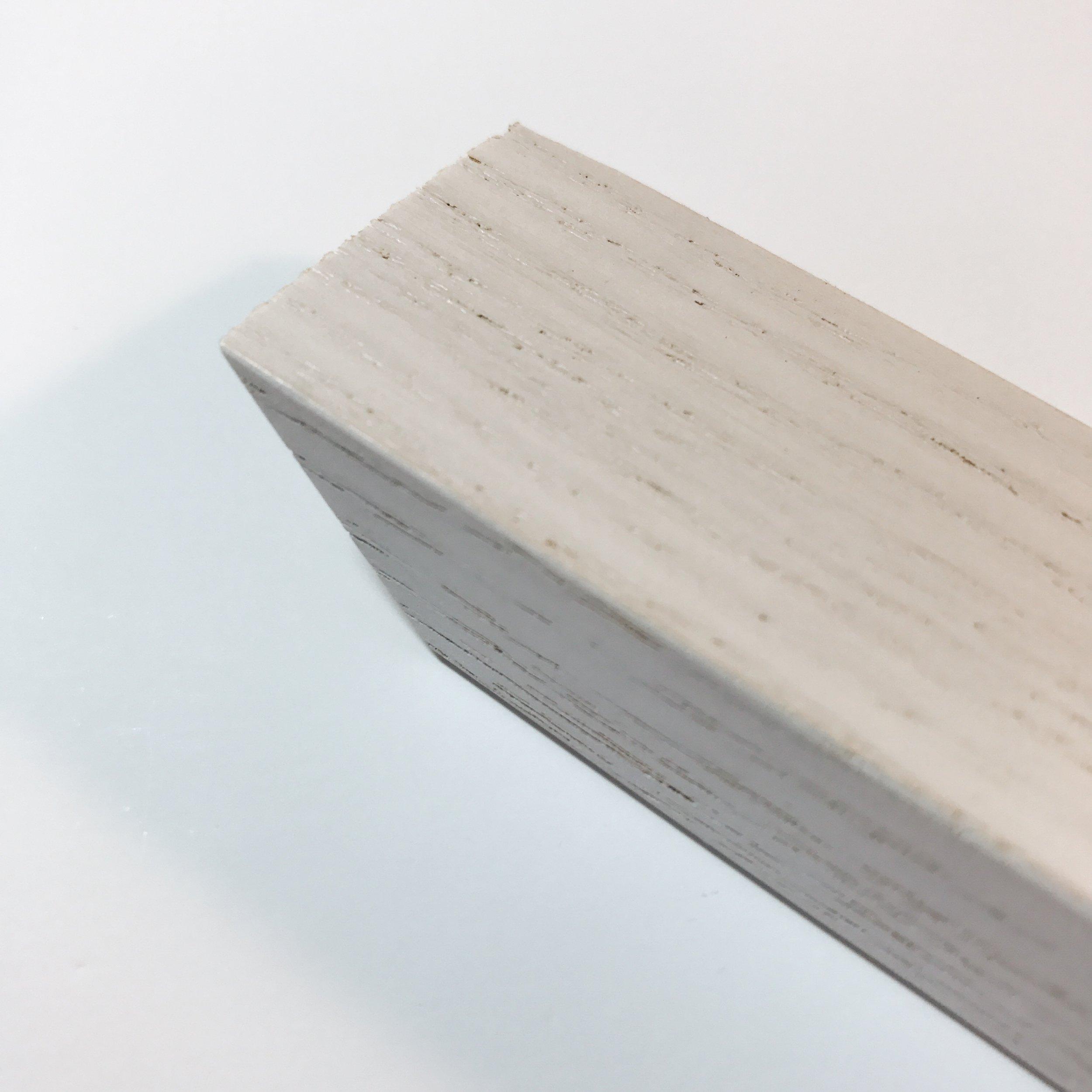 Ash  -  White Finish