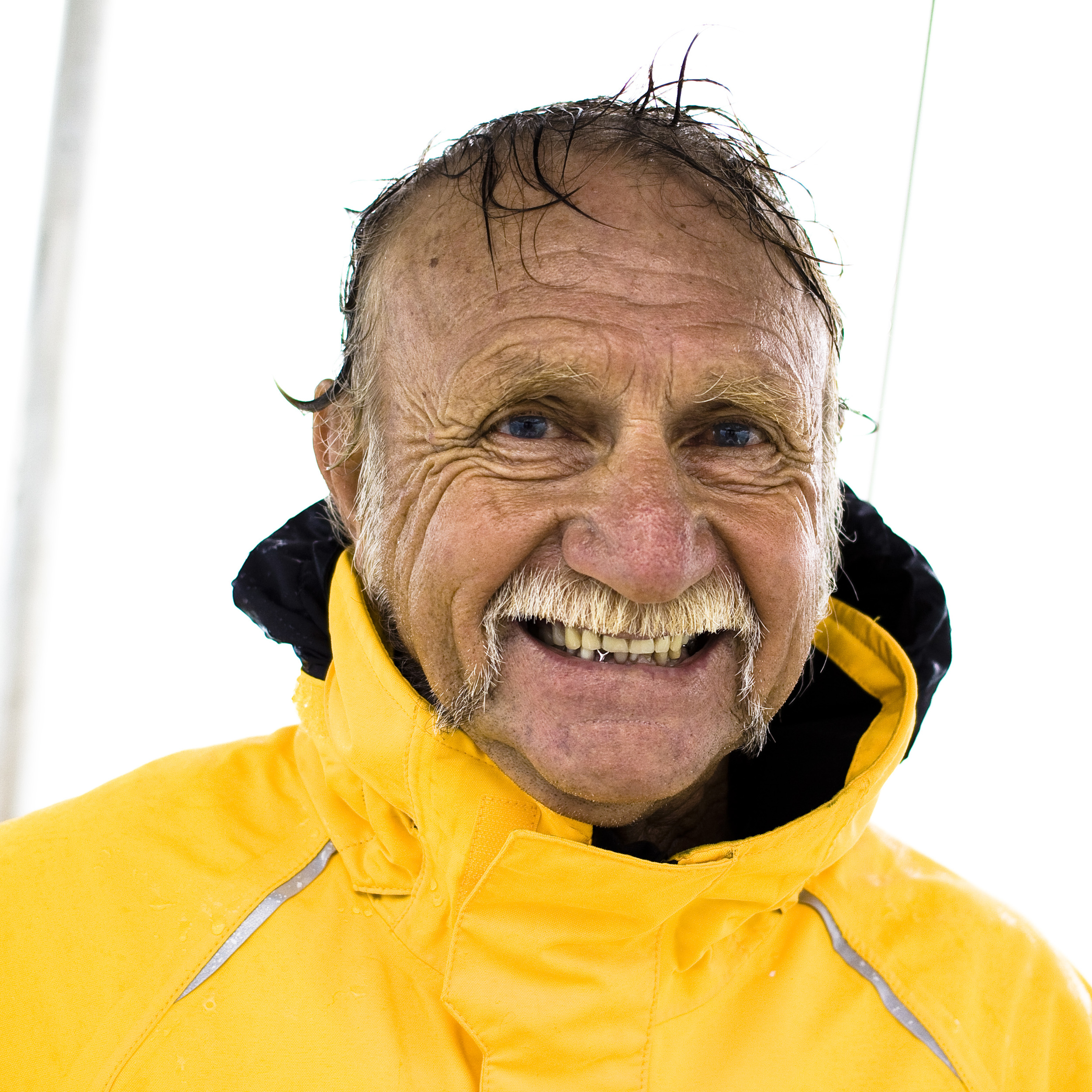 "This is Captain Keith. He has spent a life on the water sailing. His stories and experience are inspiring, both him and his wife Roberta.  it was a pleasure to be welcomed onto their boat. We very much enjoyed out day with him and his wife aboard the ""Sunshine Too""."