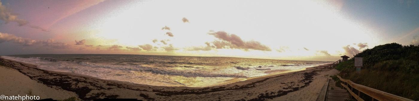 Dawn patrol. Body surf mesh in Vero Beach, FL.