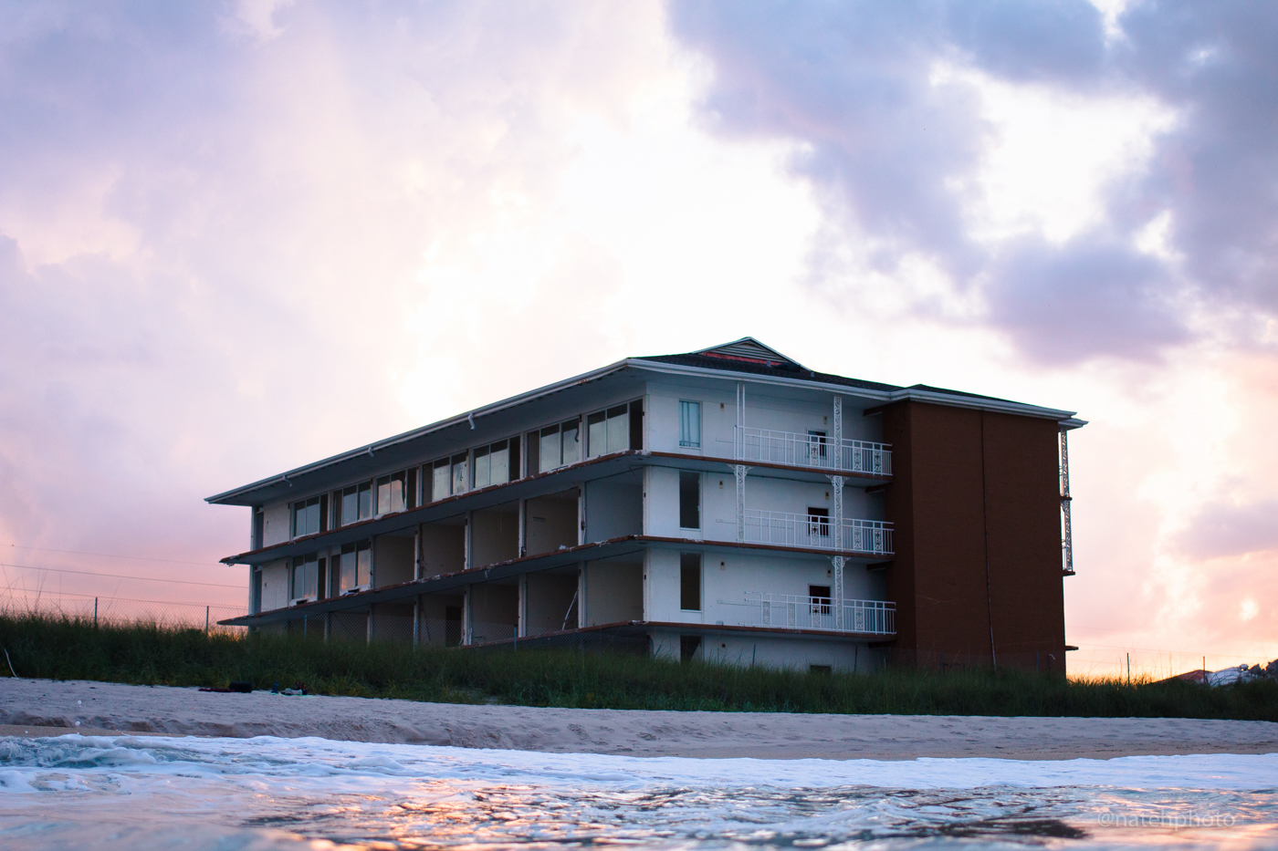 The Surf & Sand Hotel is quickly disappearing...