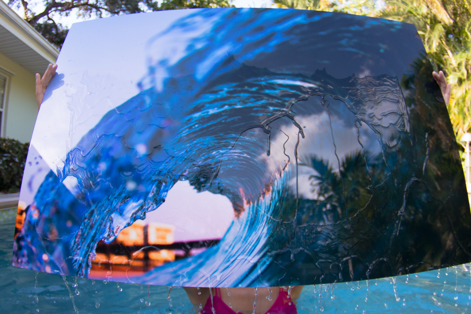 As good as new. Water photography on water photography, I love it!